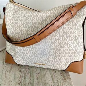 Michael Kors Crosby Large Logo Shoulder Bag